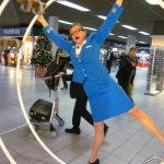 Flashmob Schiphol